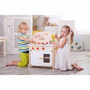 آشپزخانه چوبی مدل trefl خانه بازی