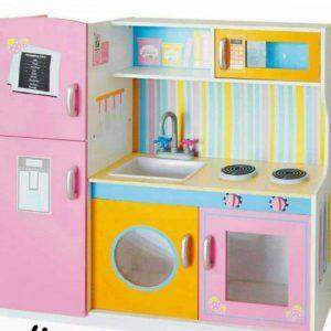 آشپزخانه چوبی کودک خانه بازی
