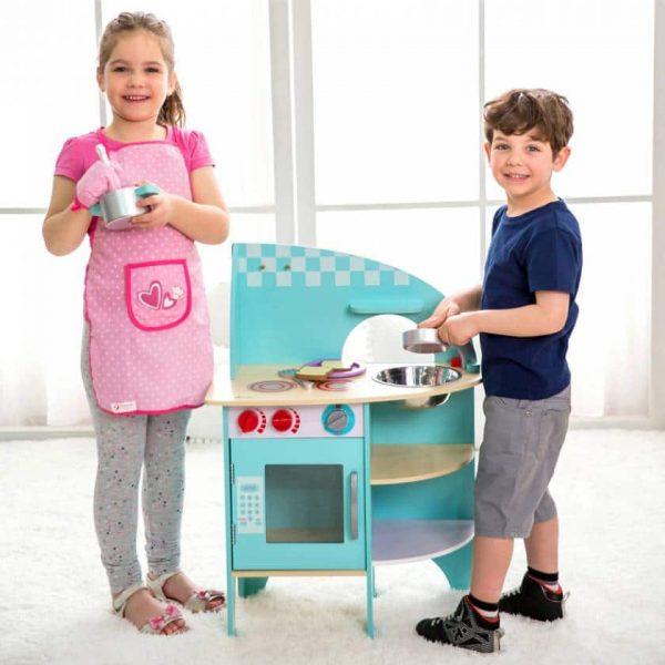 آشپزخانه چوبی Classic World مهد کودک