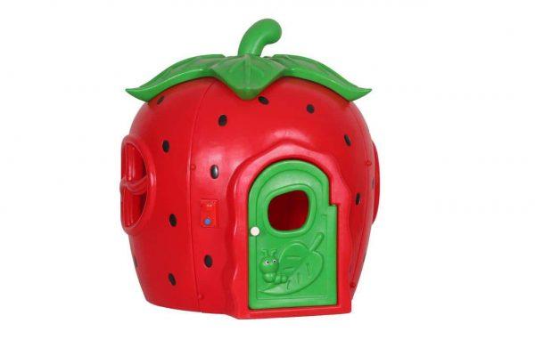 کلبه کودک توت فرنگی بسیار محکم و مقاوم مناسب بازی کودکان 1 تا 9 سال در مهدکودک،خانه بازی و...