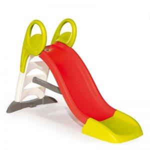 سرسره smoby با آب پاش،با قابلیت اتصال به شلنگ آب انتخابی عالی برای بازی کودکان بالای 2 سال