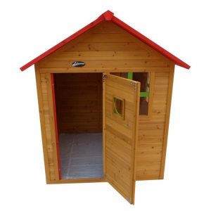کلبه چوبی کودک Lifespankids بدون کفی و مناسب استفاده 3 کودک به صورن همزمان در فضاهای باز و بسته