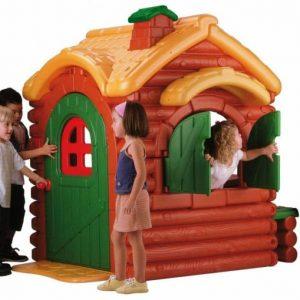 كلبه کودک طرح جنگل بزرگ feber پلی اتیلنی مناسب بازی کودکان بالای 2 سال در منزل،مهد کودک،خانه بازی و...