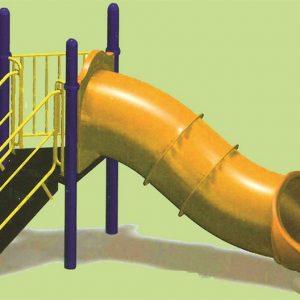 خرید سرسره پارک کد ps 1055،شامل سرسره تونل دار برای بازی کودکان 3 تا 15 ساله شما در تمامی فضاهای باز