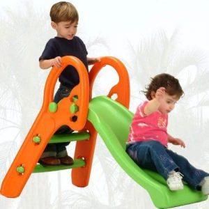 سرسره کودک 3 حالته تاشو با قابلیت تنظیم در 3 ارتفاع و تغییر زاویه شیب مناسب استفاده در مهدکودک،خانه بازی و منزل