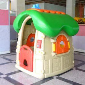کلبه کودک قارچی موزیکال پلی اتیلنی مناسب برای محیط داخلی و بیرونی مهد کودک،خانه بازی،منزل و...