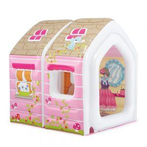 کلبه کودک بادی با مبل و میز Intex ضد آب و مناسب بازی کودکان 2 تا 6 ساله در منزل،خانه بازی و...