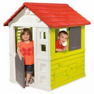 کلبه بازی کودک smoby پلی اتیلنی محکم و با دوام مناسب بازی کودکان بالای 2 سال در منزل،مهد کودک و...