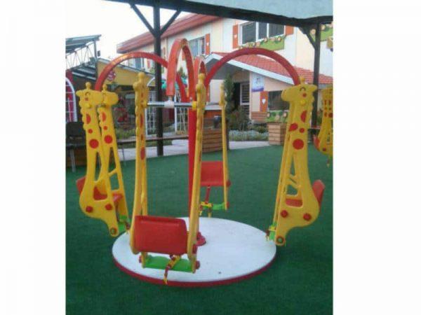 تاب چرخ و فلکی مناسب مهد کودک خانه بازی و فضاهای باز