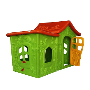کلبه کودک ویلای جنگلی ching ching پلی اتیلنی مناسب استفاده در منزل،مهد کودک،خانه بازی و...