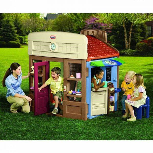 کلبه کودک خانه مشاغلقابل استفاده به عنوان فروشگاه،کافی شاپ،پمپ بنزین و... در مهدها کودک،خانه های بازی،منازل و...