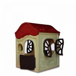 کلبه قارچی کودک ching ching مناسب استفاده طولانی مدت در فضاهای باز مهدکودک،خانه بازی و منزل