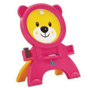 تخته وایت برد کودک طرح خرس مناسب خانه بازی مهد کودک پیش دبستانی و منزل