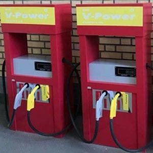 پمپ بنزین چوبی مناسب مهد کودک و خانه بازی