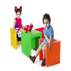 صندلی سه کاره مهد کودک مناسب برای خانه بازی،مهد کودک و اتاق کودک