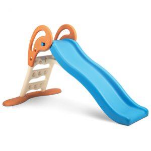 سرسره موجدار کوچک تاشو با آب پاش انتخابی مناسب جهت بازی کودکان 1 تا 3 ساله شما به ویژه در منزل