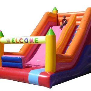 سرسره بادی چهار قلعه مناسب استفاده در شهربازی،خانه بازی،پارک بادی و تمامی مکان های تفریحی