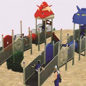 مجموعه بازی پلی اتیلنی ps 1099 مهد کودک