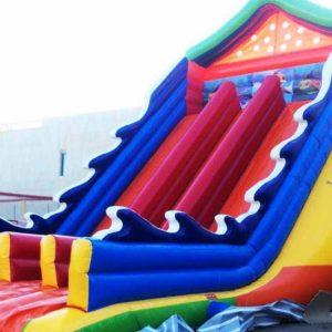سرسره بادی S117 مناسب استفاده در مکان های روباز تفریحی کودکان،شهربازی ها،پارک ها