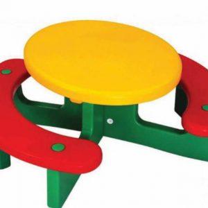 میز پیک نیک کودک مناسب بازی بچه های بالای 2 سال در فضای باز و سرپوشیده مهد کودک،خانه بازی،منزل و...