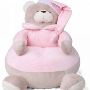 مبل کودک خرس صورتی مهد کودک