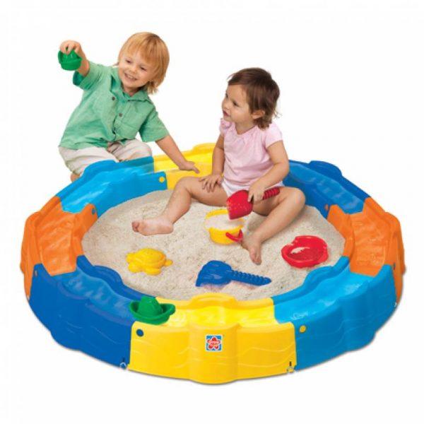 استخر شن بازی با ابزار مدل grow'n up 3028 مهد کودک