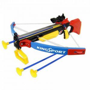 تیر کمان زوبین قرمز زرد کودک 35881G king sport خانه بازی