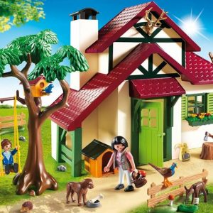 پلی موبيل Forest Ranger's House playmobil مهد کودک