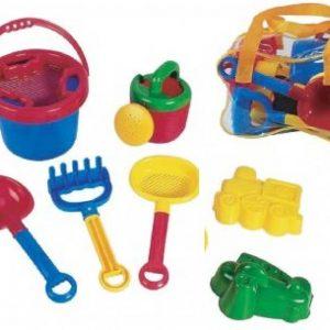 ابزار شن بازی 7تکه مهد کودک