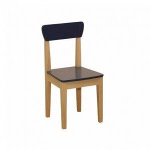 صندلی چوبی roba ساخته شده ازMDF و دارای لبه های گرد برای ایمنی کودک مناسب برای اتاق کودک،مهد کودک،پیش دبستانی و...