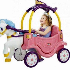 واکر و ماشین پایی دو کاره پرنسس کودک خانه بازی