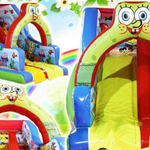 سرسره بادی S138 مناسب استفاده در مهد کودک ها،خانه های بازی،شهربازی ها