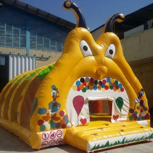 استخر توپ بادی حلزون بزرگ مناسب بازی در مهد کودک ها،خانه های بازی،شهربازی ها و...