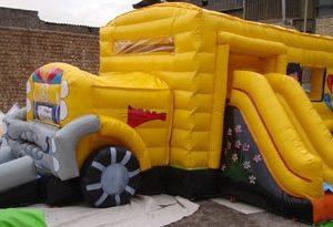 استخر توپ اتوبوس مناسب مهد کودک و شهربازی