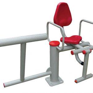 دستگاه بدنسازی فیله کمر و جلو پا قابل استفاده در فضاهای باز ورزشی،پارک ها و...