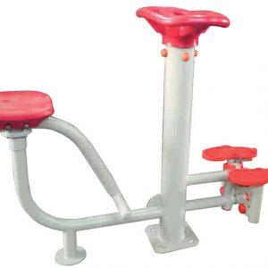 دستگاه بدنسازی مسگری نشسته و کوه پیمایی مناسب استفاده در فضاهای باز و پارک ها