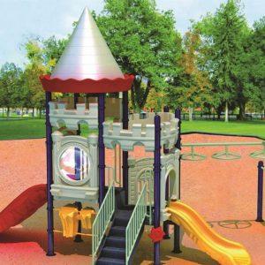 مجموعه بازی پلی اتیلنی ps 1142 مناسب استفاده در پارک ها و مراکز تفریحی کودکان