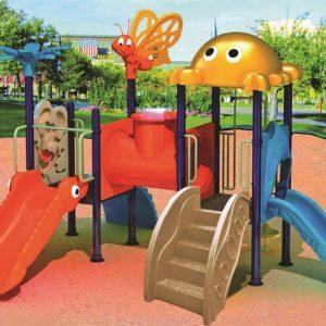 مجموعه بازی پلی اتیلنی ps 1146 با کیفیت بالا مناسب استفاده حداکثر 20 کودک 3 تا 15 ساله در پارک