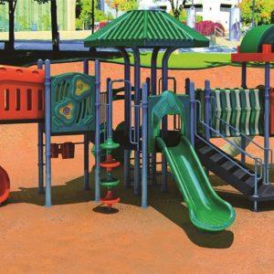 مجموعه بازی پلی اتیلنی ps 1153 با کیفیت بالا مناسب استفاده در پارک،فضای باز مهدکودک و...