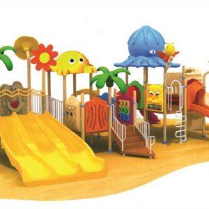 مجموعه بازی پلی اتیلنی ps 1154 قابل استفاده در فضای باز مهدکودک،پارک و...