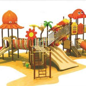 مجموعه بازی پلی اتیلنی ps 1157 مناسب استفاده در تمامی مراکز تفریحی روباز