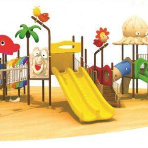 مجموعه بازی پلی اتیلنی ps 1158 قابل استفاده در فضاهای باز تفریحی کودکان و پارک ها 1