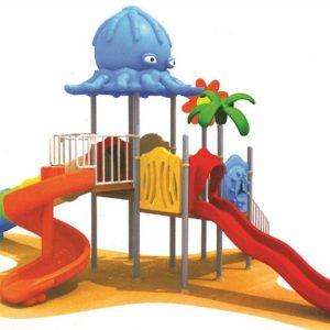 خرید تاب و سرسره پارکی کد ps 1168 قابل استفاده در مهدکودک،پارک،مراکز تفریحی و...