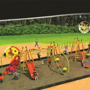 مجموعه بازی تور و طناب ps 2009 قابل استفاده در فضاهای باز تفریحی،پارک ها و...