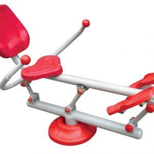 دستگاه ورزشی داخل پارکها کد ps 6012 قابل استفاده در پارک و فضاهای باز ورزشی