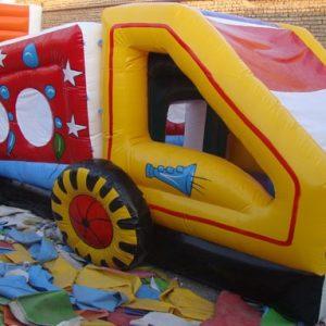 استخر توپ بادی طرح ماشین مناسب مهدکودک،شهربازی،خانه بازی و...