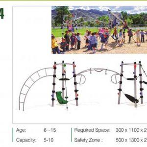 مجموعه بازی مدرن ps 3034 مناسب استفاده در باغ و ویلا،پارک و...