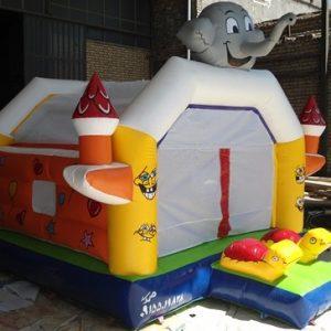 استخر توپ دودکش دار بادی مناسب مهد کودک و خانه بازی