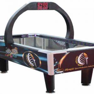 میز ایرهاکی مدل ساده المپیک قابل استفاده در فضاهای تفریحی نوجوانان،کلوپ بازی،خانه بازی و...