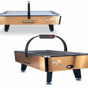 فروش ایرهاکی مدل تورنادو دارای دو رنگبندی طلایی و نقره ای و با دو سایز مختلف 2 و 4 نفره با کیفیت بسیار بالا در اصفهان وارسال فوری به سراسرکشور